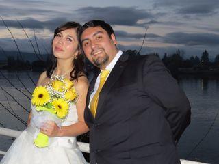 El matrimonio de Andres y Daniela