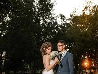 El matrimonio de Katherine y Victor