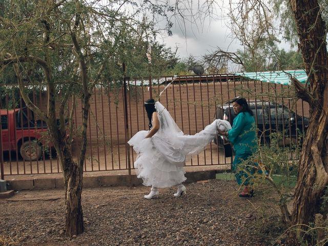 El matrimonio de Luis y Adelina en San Pedro de Atacama, El Loa 8