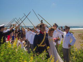 El matrimonio de Felipe y Michelle