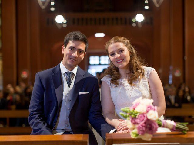 El matrimonio de Isidora y Tomás