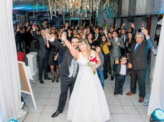 El matrimonio de Evelin y Luis