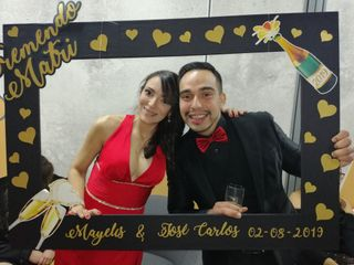 El matrimonio de Mayelis y José