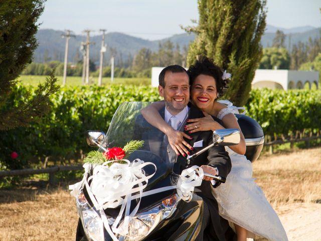 El matrimonio de Jennie y Cristian