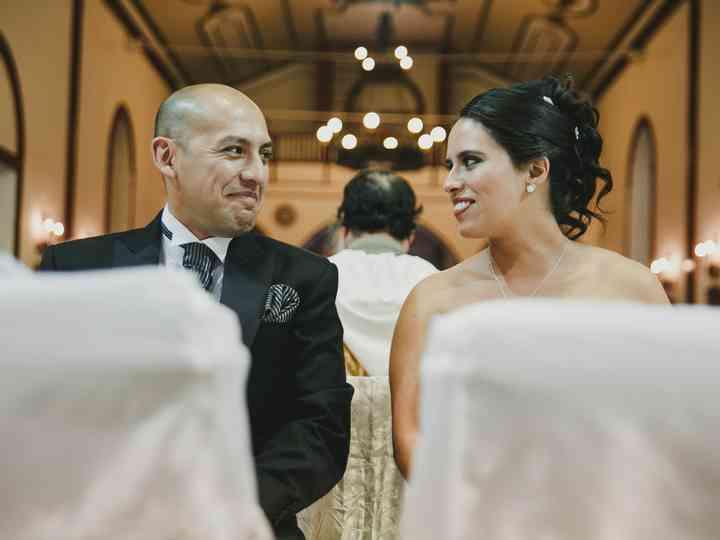 El matrimonio de Paulina y Francisco