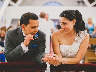 El matrimonio de Paola y Rodolfo