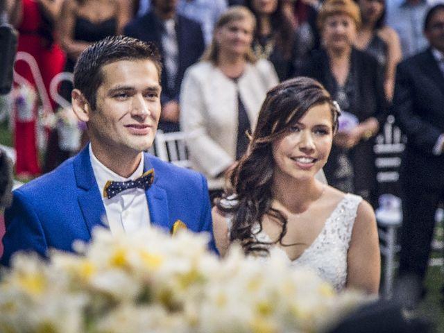 El matrimonio de Macarena y Javier