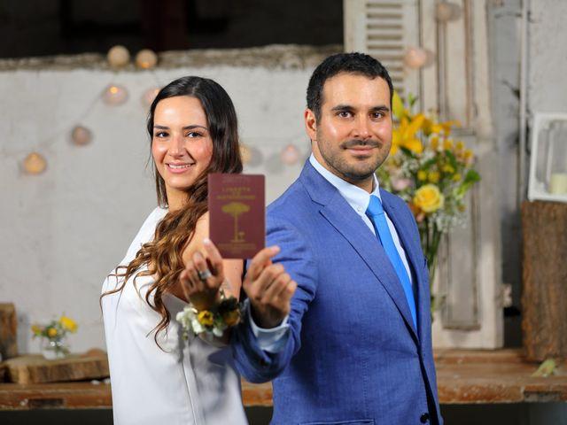 El matrimonio de Mariana y Francisco