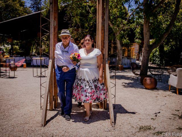 El matrimonio de David y Macarena en Peñaflor, Talagante 12