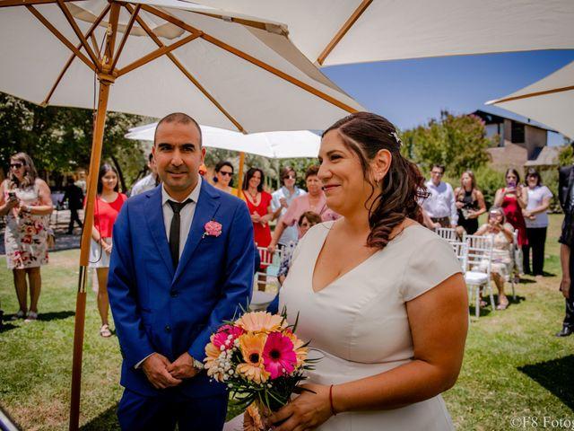 El matrimonio de Macarena y David