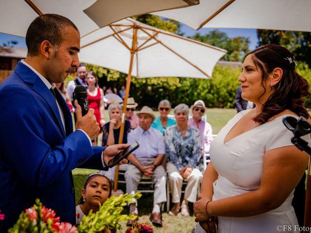 El matrimonio de David y Macarena en Peñaflor, Talagante 22