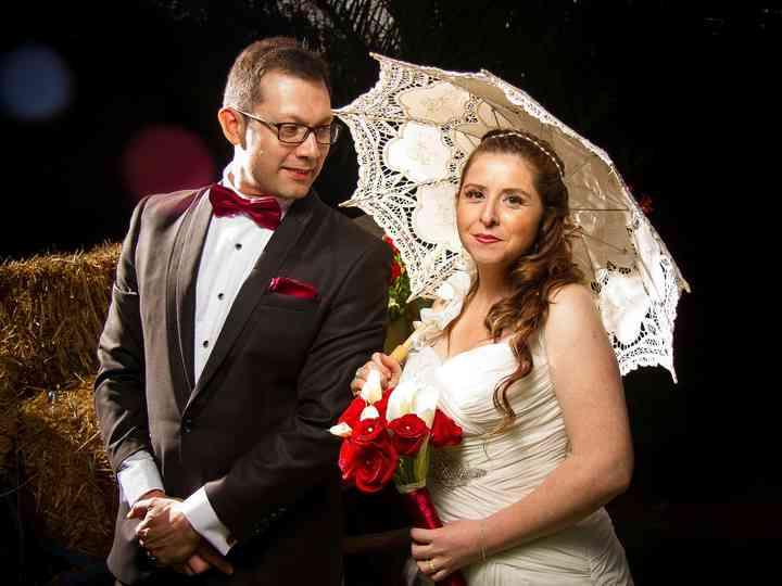 El matrimonio de Ana y Oscar