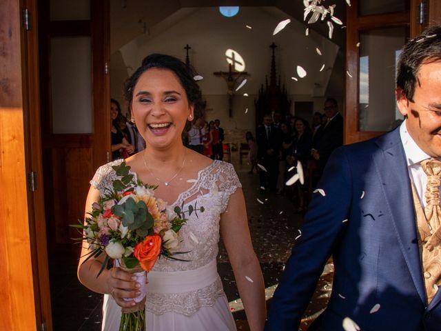 El matrimonio de Carla y Andrés