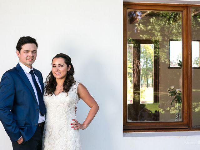El matrimonio de Bárbara y Mauricio