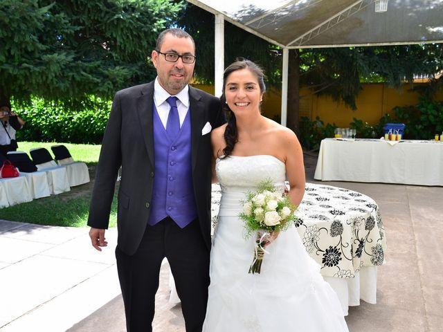 El matrimonio de Roxana y Enoc