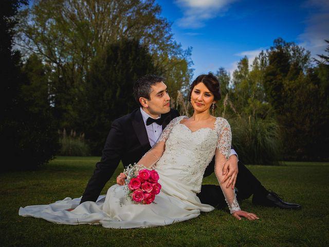 El matrimonio de Nathalí y David