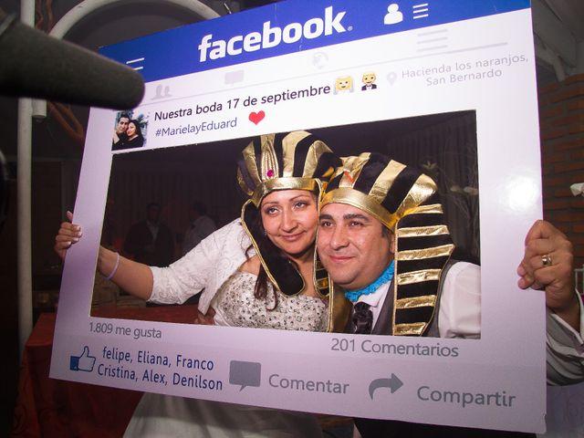 El matrimonio de Eduard y Mariela en San Bernardo, Maipo 76