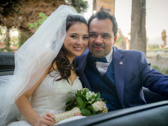 El matrimonio de María José y Alex