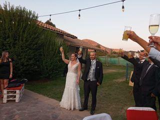 El matrimonio de Evelyn y Samuel