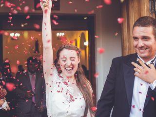 El matrimonio de Piero y Nicole
