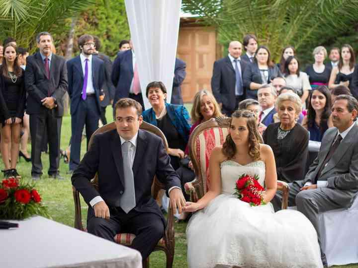 El matrimonio de Felipe y Paulina