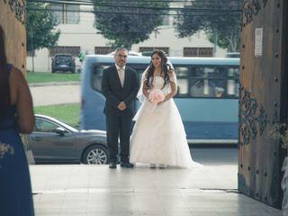 El matrimonio de Christian y Sinthia 1
