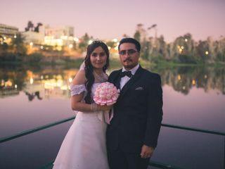 El matrimonio de Christian y Sinthia
