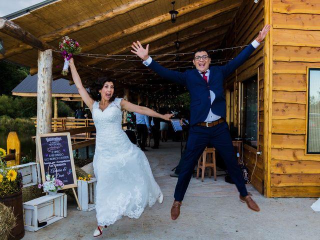 El matrimonio de Dany y Adrián