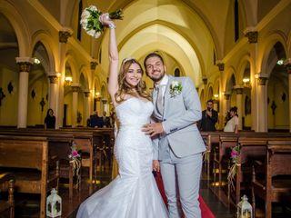 El matrimonio de Reina y Antonio