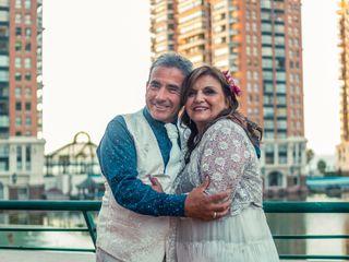 El matrimonio de Ema y Francisco