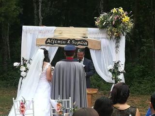 El matrimonio de Sophia y Alfonso