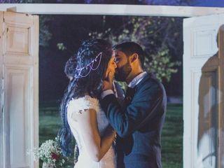 El matrimonio de Iván y Daniela