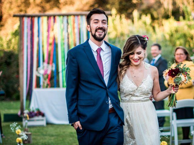 El matrimonio de Dalva y Nicolás