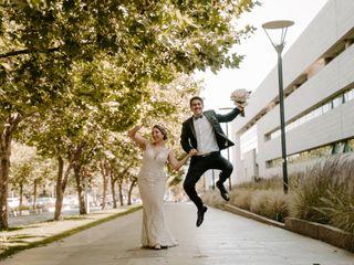 El matrimonio de Leslie y Patricio