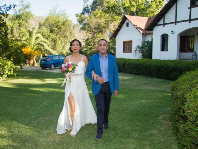 El matrimonio de Eduardo y Paulina en Calera de Tango, Maipo 11