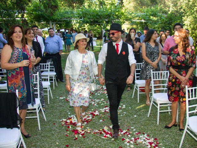 El matrimonio de Eduardo y Paulina en Calera de Tango, Maipo 15