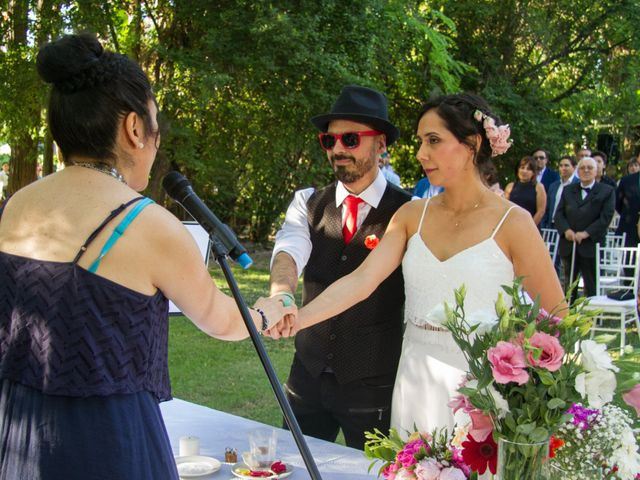 El matrimonio de Eduardo y Paulina en Calera de Tango, Maipo 19