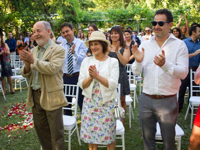 El matrimonio de Eduardo y Paulina en Calera de Tango, Maipo 20