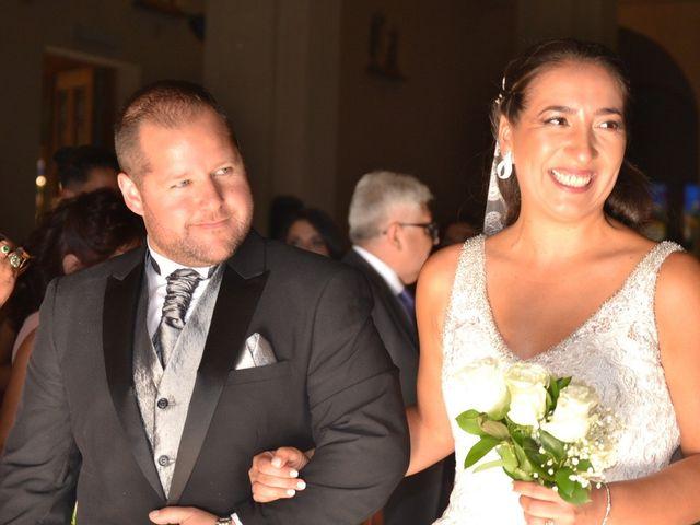 El matrimonio de Cristian y Carolina