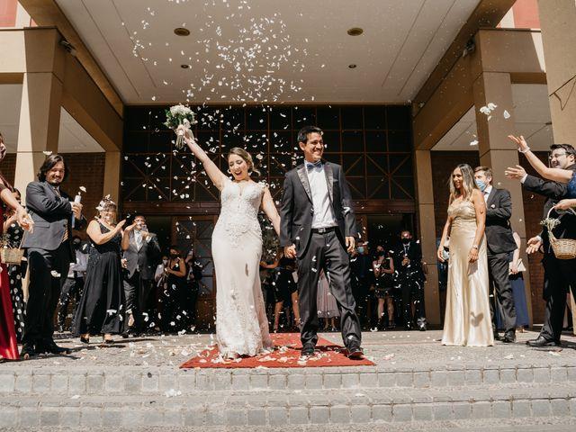 El matrimonio de Patricio y Leslie en La Reina, Santiago 44