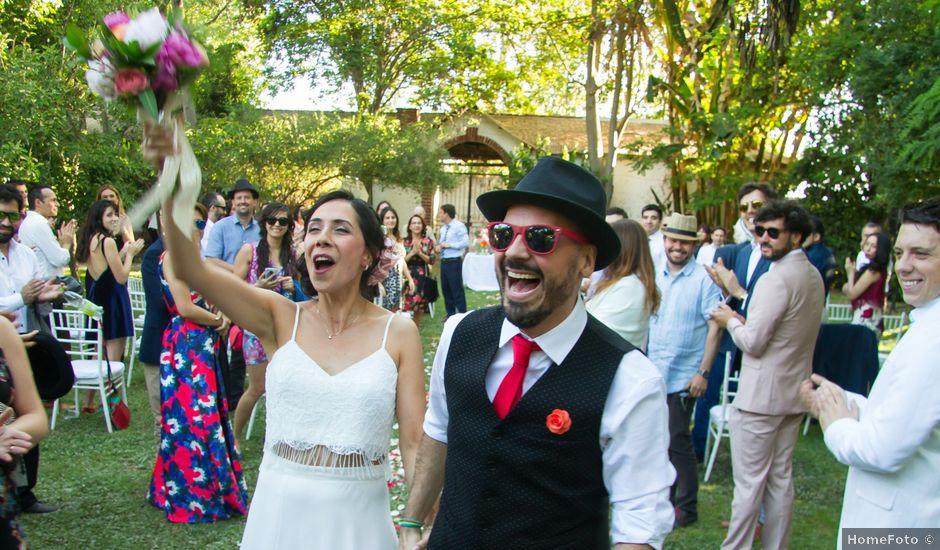 El matrimonio de Eduardo y Paulina en Calera de Tango, Maipo