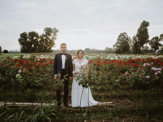 El matrimonio de Cata y Ismael