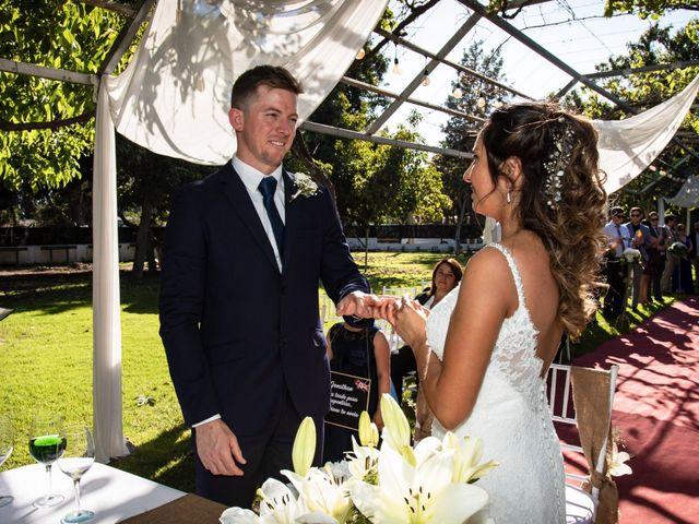 El matrimonio de Paulina y Jonathan
