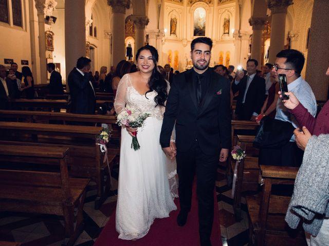 El matrimonio de Alejandra y Diego