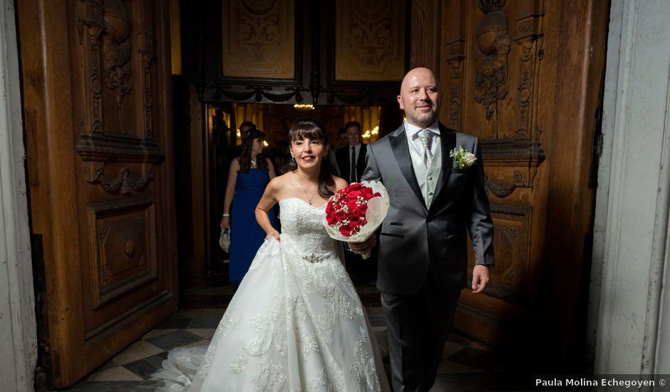 El matrimonio de Luis y Claudia en Santiago, Santiago