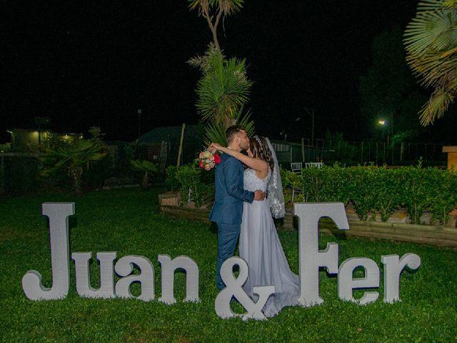 El matrimonio de Fernanda y Juan