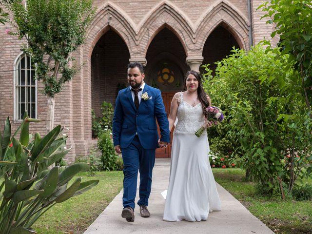 El matrimonio de Marcela y Pedro