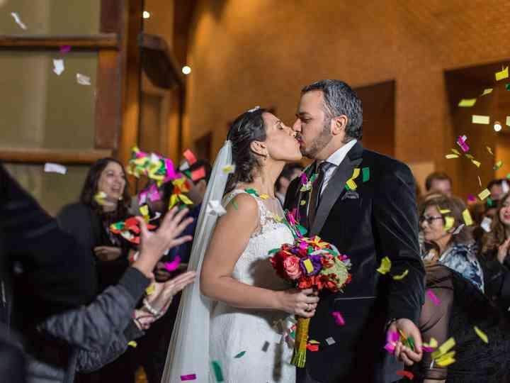 El matrimonio de Carolina y José