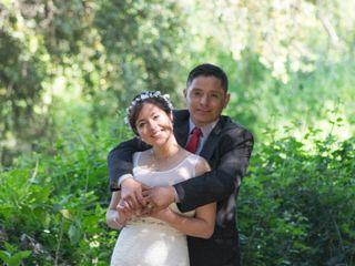 El matrimonio de Ana Belén  y Osvaldo