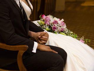 El matrimonio de Ángela y Cristóbal 1